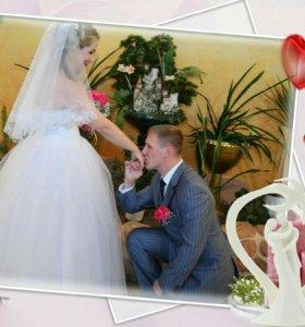 Продам свадебное платье в идеальном состоянии!