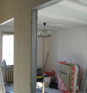 Внутренняя отделка домов, квартир
