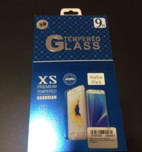 Защитное стекло 3D на IPhone 7 Plus