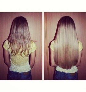 Наращивание/волос/коррекция