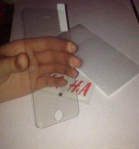 защитное стекло на айфон 5/5s/SE