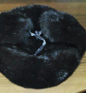 Шапка-ушанка Норковая