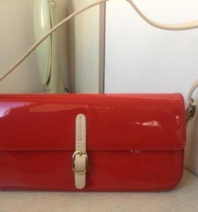 Новая кожаная женская сумка Карло Пазолини