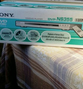 DVD плеер SONY NS355