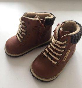 Новые демисезонные ботиночки