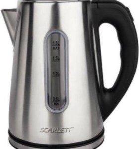 Чайник Scarlett SC-EK21S21 1,8л 2200Вт металл
