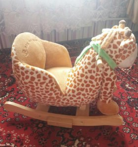 Детская Качалка Жирафик