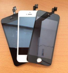 Замена дисплея iphone 5,5s, 5se,6,6s,7,+.