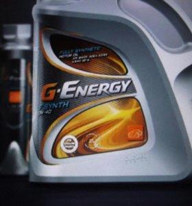 Моторное масло G-Energy полусинтетика на розлив.