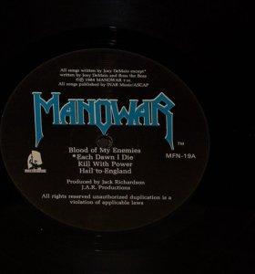 Пластинка Manowar