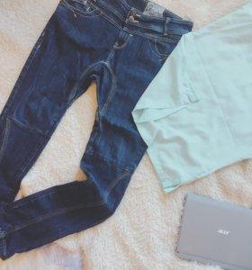 Новые джинсы и блузка
