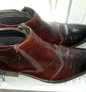 Ботинки мужские новые!!!