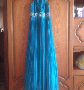 Платье (синие )
