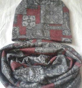 Шапки и шарфы - снуды