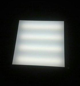 Переоснащение люминесцентных светильников на свето