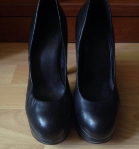 Туфли на высоком каблуке натуральная кожа