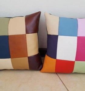 Радужные подушки