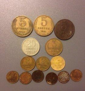 Монеты СССР с 1956-1991 год