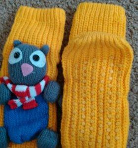 Вязаные носки новые