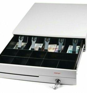 Денежный ящик Posiflex CR 4000 белый.