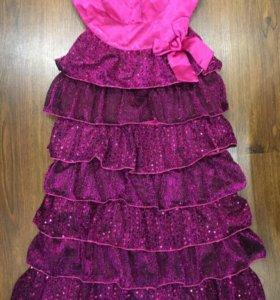Платье для торжеств р.134-146
