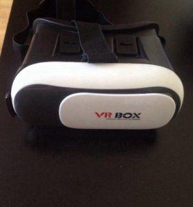 Очки виртуальной реальности и Баскетбольный мяч.
