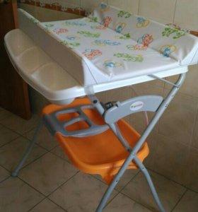 Пеленальный стол с ванночкой Prenatal