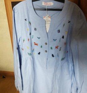 Новая рубашка/блузка для беременных