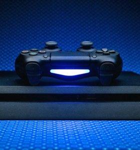 Playstation 4 slim 1TB + 25 хитовых игр.