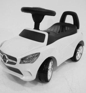 Детская машинка каталка толокар Mercedes