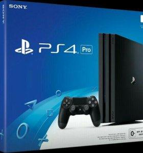 Playstation 4 Pro + 25 игр