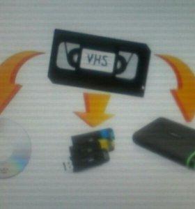 Оцифровка фото и видео материалов