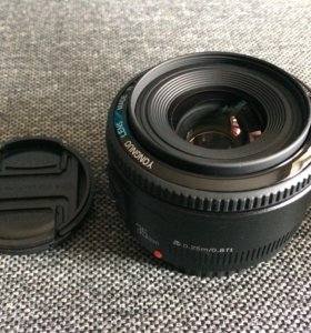 Yongnuo 35 мм F2.0 для Canon