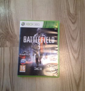 Battlefield 3 на Xbox 360 лицензия