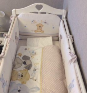 Детская кроватка маятник с механизмом