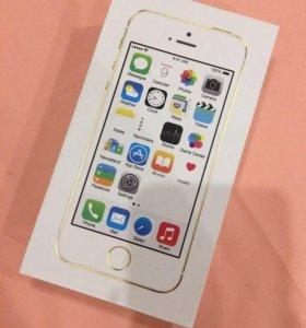 iPhone 5s gold 32 gb