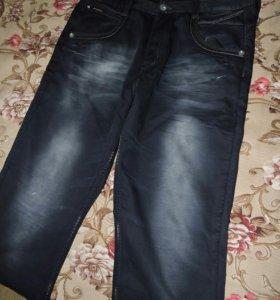Утепленые джинсы
