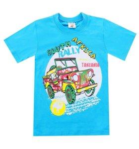 Новые футболки 4,5 лет