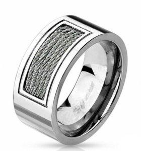 Кольцо из стали с тросами Spikes