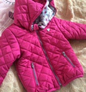 Розовая курточка