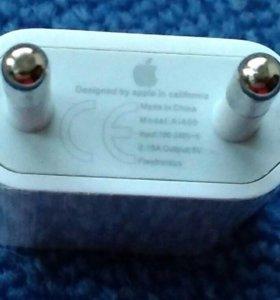 Для IPhone 4,5,6 : USB Power Adapter , сетевой.