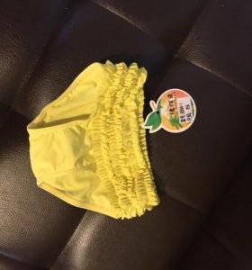 Купальник новый плавки Одежда для девочки