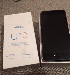 Смартфон Meizu U10 16 GB Black