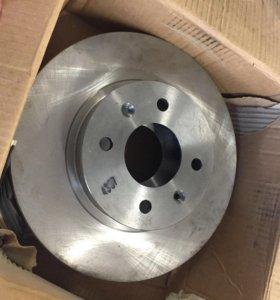 Тормозные диски на Hyundai Getz