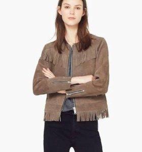 Куртка натуральная замша Манго