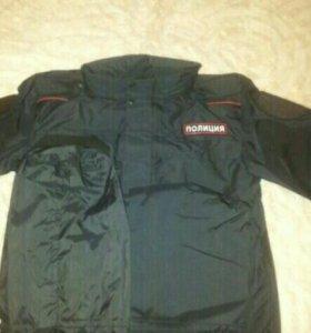 Ветро влаго защитный костюм полиции