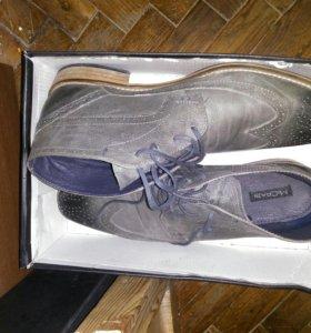 Стильные фирменные муж ботинки