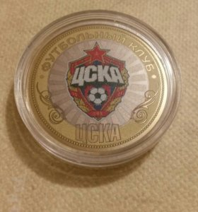 Монета с футбольным клубом