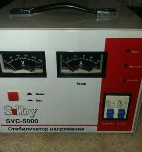 Стабилизатор напряжения,Solby SVS 5000 б/у