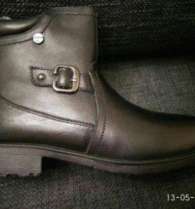 Зимние натуральные ботинки, р-р 36 Новые
